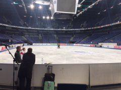 WM Training - Nicole Schott und Trainer Huth